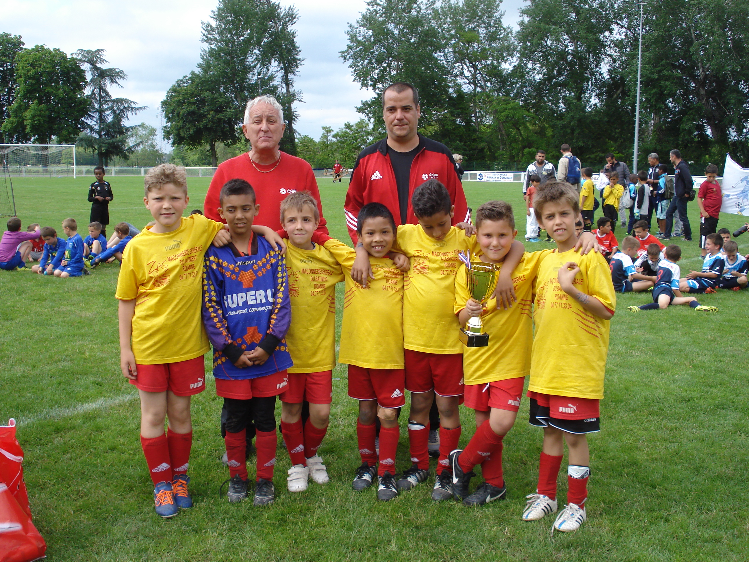 tournoi kid 39 s pierre broddes 2016 olympique le coteau. Black Bedroom Furniture Sets. Home Design Ideas