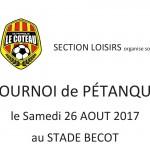 Petanque Loisirs 2017 titre