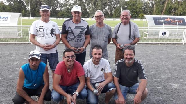 Demifinalistes pétanque Loisirs 2017