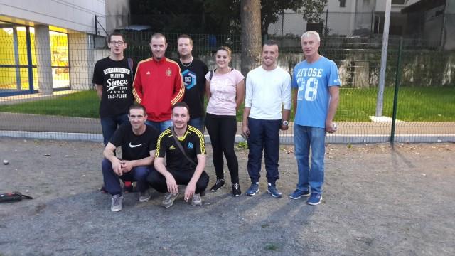 Demifinalistes pétanque Olc 2017